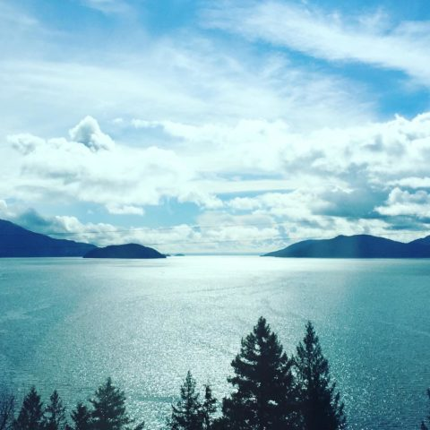 The beautiful views as you drive from #vancouver to #whistler in #canada